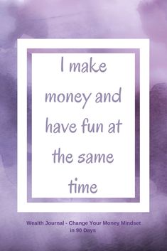 Daily wealth affirmation to help you improve your money mindset ready to accept more wealth and abundance. Use the affirmation and see what it brings up for you, then work on eliminating any limiting beliefs. From the Wealth Journal: Change Your Mon Affirmations For Women, Wealth Affirmations, Law Of Attraction Affirmations, Positive Affirmations, Career Affirmations, Positive Thoughts, Positive Vibes, Positive Quotes, Strong Quotes