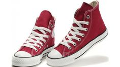 9315f2316a8e Converse Shoes Burgundy Chuck Taylor All Star Classic Womens Mens Canvas  Sneakers High - Dereo Shop