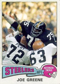 Joe Greene Pittsburgh Steelers 69c109355