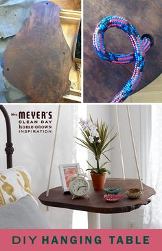 Who needs coffee table books when your table itself is the living room's conversation piece? With this simple and gorgeous DIY from Paul Lowe, your new side table will be the center of attention.