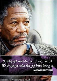 Fibro and Morgan Freeman