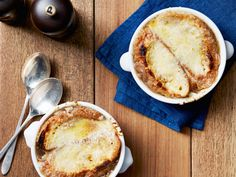 French Onion Soup Recipe from Tyler Florence Food Network Florence Food, Tyler Florence, Gazpacho, Korma, Biryani, Food Network Recipes, Cooking Recipes, Top Recipes, Top Rated Soup Recipes