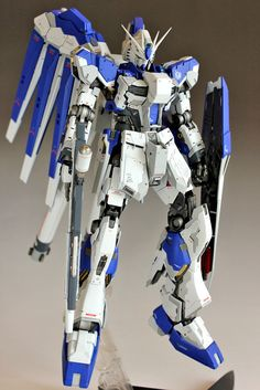 GUNDAM GUY: 1/100 Hi-Nu Gundam Ver.Ka - Custom Build