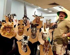 Costume d'Halloween de groupe: trophées de chasse                                                                                                                                                                                 Plus
