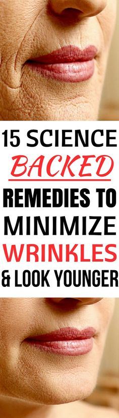 In this article we will present natural remedies that will minimize wrinkles and restore the youth in your skin.