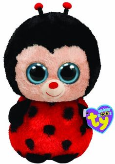 $4.50 Ty Beanie Boos Bugsy The Ladybug. From the Ty Beanie Boos collection. Plush stuffed animal collectible toy. Mint with mint tags (with heart  tush tags). One of the Bird style TY Beanies.