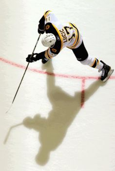 That's some nice photography of Milan Lucic working his magic
