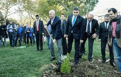 While Erdogan Ignores Cyprus... George Papandreou Decides To Plant Trees In Constantinople ~ HellasFrappe