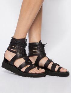 pixie market // amanda gladiator sandals