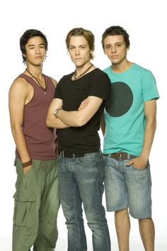 Tom Green, Jordan Rodrigues and Tim Pocock for Dance Academy