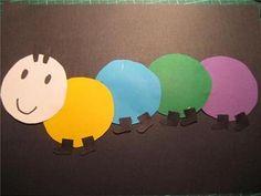 knutselen rups Heb hoofdje is de begeleidster en elk bolletje een kind, hoe meer kindjes hoe groter de rups Creative Kids, Spring, School, Decor, Google, Ideas, Insects, Decoration, Decorating