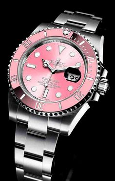 Pink and white gold Women's Rolex watch