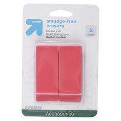 Smudge-Free Erasers, 2ct - up & up™ : Target