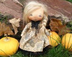 Que recoge la muñeca tela muñeca muñeca suave muñeca por ElenaGarus
