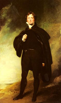 Painting of the Day!  Sir Thomas Lawrence (1769-1830) Portrait Of George Nugent Grenville, Lord Nugent Oil on canvas  To see more works by this artist please visit us at: http://www.artrenewal.org/pages/artwork.php?artworkid=8791&size=large