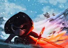 Kylo Ren Gets Cute-ified and BB-8 Chills With Rey in Awesome The Force Awakens Fan Art - http://www.entertainmentbuddha.com/kylo-ren-gets-cute-ified-and-bb-8-chills-with-rey-in-awesome-the-force-awakens-fan-art/