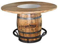 High Resolution Barrel Bar Table 6 Jack Daniels Whiskey