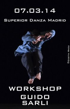 Workshop con Guido Sarli | Umma Umma Dance #danza #csdma #SuperiorDanzaMadrid