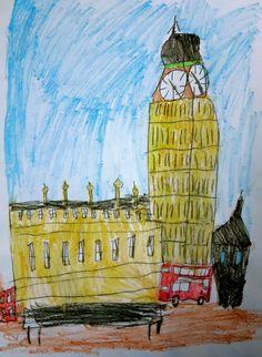 """""""du carnet de voyages 2010..."""": Londres part 1"""