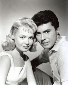 Gidget and Moondoggie (Sandra Dee and James Darren) | House of Beccaria~still a handsome crooner at 70! loved his singing last yr