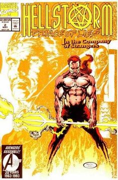 Hellstorm: Prince of Lies - In The Company of Strangers: Strange Encounters (Issue) Marvel Comic Books, Marvel Dc Comics, Human Torch, Cartoon Man, Rite Of Passage, Marvel Series, Horror Comics, Ghost Rider, Comic Book Covers