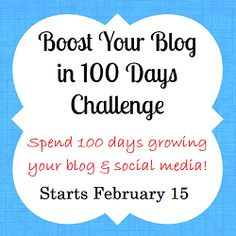 Introducing Boost Your Blog in 100 Days - Something 2 Offer