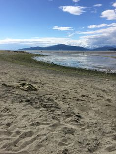 low tide Spanish Banks Vancouver BC