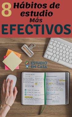 Los 8 Mejores Hábitos y Técnicas de Estudio. Discover the best study techniques that can serve you to have a great academic experience. These study tips can help you improve your motivation. Best Study Techniques, Study Methods, Study Tips, Study Skills, Study Inspiration, Good Habits, School Hacks, School Tips, Parenting Teens