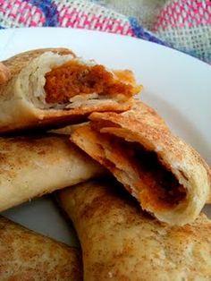 Pumpkin empanadas! Oh my! @Christa Lopez