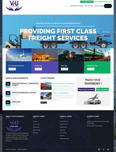 Courier Company website Design and Development
