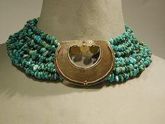 CESAREE, créateur de bijoux couture Collier collection MASKAT