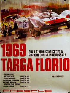 """And they flew right past your casa! Amazing"" KB 1969 Targa Florio"