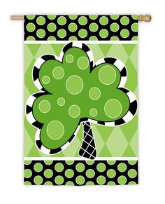 MONOGRAMS FOR ALL OCCASIONS, INC. - St. Patrick's Day Monogram Flag | St Patrick's Day Monogram Flags | St Patrick's Day Monogrammed Flag| Monogrammed Flags | Personalized Flags