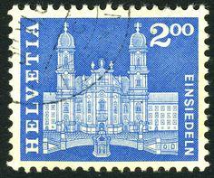 Einsiedeln by Albert-Edgar Yersin 1905 - 1984.