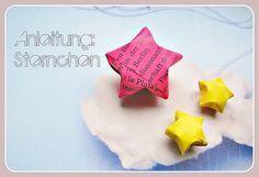 Dreidimensionale Sternchen falten - eine Anleitung!