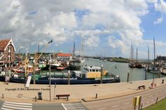Boat on the dock  Texel island / Holland Bartolomeo Vurchio