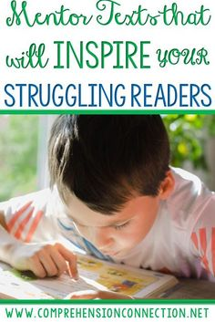 Mentor texts keep learning fun and interesting for students. This post includes ways to use them to build motivation, add rigor, and give purpose to reading.