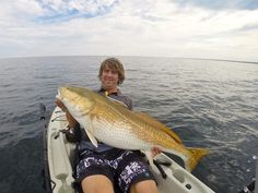 Outer Banks Kayak fishing Red Drum
