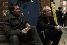 Still of Paddy Considine and Peter Mullan in Tyrannosaur