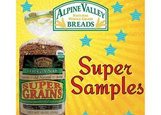Get Three FREE Loaves Of Alpine Valley Breads!