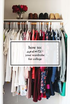 How to Update Your Wardrobe for College - great college fashion tips to help you start to develop a more professional closet College Essentials, College Hacks, College Dorm Rooms, College Girls, College Years, College Life, College Style, Freshman Year, College Planning