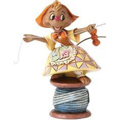 "Released January 2014. ""Cinderella's Kind Helper"" - Susie Mouse Figurine. No. 4039085"