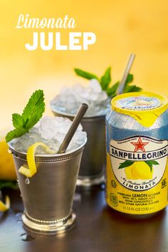 Give the classic mint julep a citrus twist this summer. Mix Limonata with a splash of bourbon and sprig of mint over crushed ice for a refreshing, crowd-pleasing cocktail at your next gathering. Made with real fruit juice from sun-ripened citrus, Sanpellegrino Sparkling Fruit Beverages are the highlight of any summer gathering. Under 21? Hold the bourbon.