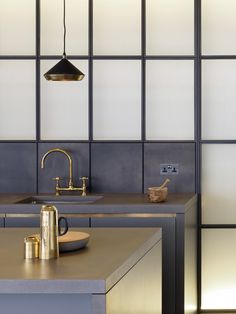 Stone, glass and brass a heaven;y combination by Michaelis Boyd Associates