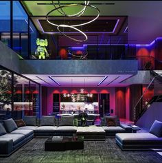 Interior Architecture, Interior Design, Lighting Design, Beautiful Homes, Neon Signs, Exterior, Photo And Video, House Styles, Instagram