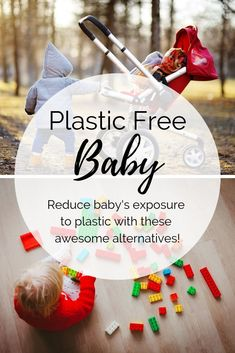 Do you need help creating a plastic free environment for your new baby?  I'll walk you through all the baby products you'll need, while using as little plastic as possible.  Find the best natural, non toxic, and plastic free items from toys to clothes and gear.   #babyproducts #ecofriendlybaby #plasticfree #plasticfreebaby #babytoys #babygear