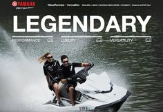 The new Yamaha WaveRunners website is an example of utilizing strategy to inform design, which melds together beautiful imagery with usability, connecting perfectly with Yamaha's ideal consumer.