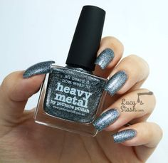 piCture pOlish Monday: piCture pOlish Heavy Metal - Review & swatches http://ift.tt/16Zw3af