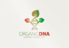 Organic Dna Logo by  @Graphicsauthor