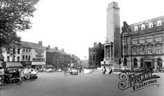 Photo of Preston, Friargate And The War Memorial Preston Lancashire, Old Photography, Great Britain, Old Photos, To Go, England, Street View, Memories, Times